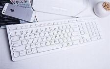 MULTI-MEDIA USB WIRED SLIM WHITE KEYBOARD