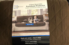 Mainstays Reversible Microfiber Fabric Pet/furniture Sofa Cover