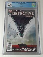Detective Comics #878 DC, 2001 Scott Snyder Jock Francavilla CGC 9.4 LOW Census!