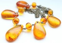 Vintage Amber Baltic Honey Beads Necklace 20.2 gram 波羅的海琥珀