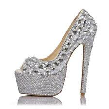 Open Toe Stiletto Heels Diamond