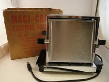 Vintage Magi-Craft Electric Toaster No.687 With Original Box and Guarantee Card