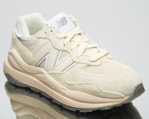 New Balance 57/40 Women's Light Grey Beige Low Lifestyle Sneakers Casual Shoes