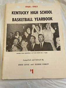 Vintage 1964 1965 KENTUCKY High School BASKETBALL Yearbook BOOK Regional History