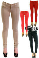 New Womens High Quality Colour Jeans Jeggings/Legging Jeans Skinny UK Size 8-16