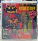 CAS80 BATMAN w/ VEHICLE-NIGHT GLIDER 1990 Kenner Batman Dark Knight Collectible