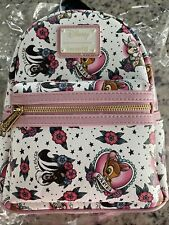 Loungefly Bambi Tattoo Thumper Flower Disney Mini Backpack Grotto Treasures NWT