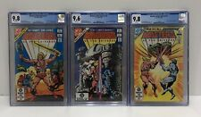 Masters Of The Universe CGC #1+2+3 DC Comics Bronze Age-MOTU-He-Man 1982-NEW