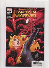 Absolute Carnage: Captain Marvel #1 NM- 9.2 Marvel Comics Spider-man Venom