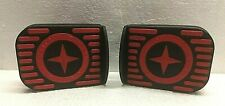 Schwinn Roadster Trike Tricycle pedals (two) RED/Black- NEW OEM part