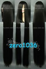78 inches New COS WIG New Cosplay Long Black Straight Wig 200cm