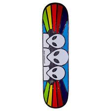 Alien Workshop Skateboard OG Logo Flair Silver