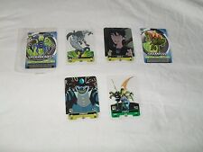 BEN 10 - 6 different Trading Cards (Unusual design excellent condition)