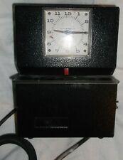 Lathem Time Corporation Time Clock Model 3021 Vintage Fair Conditon No Lock Used