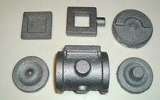 LIVE STEAM ENGINE CYLINDER SET & CRANK DISC CASTINGS CAST IRON