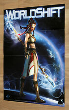 WorldShift World Shift Video game Rare Double Sided small Poster 42x30cm