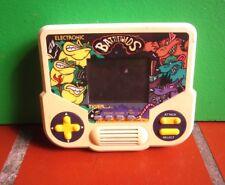 ELECTRONIC BATTLETOADS vtg handheld video game 1991 Tiger Electronics LED works