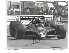 Autographed Mario Andretti Indy Car Racing Photograph