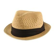 1e1731982d587 Men s Fedora Trilby Straw Hats for sale