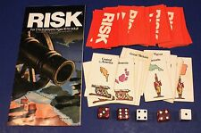 Replacement Pieces - Parker Bros World Conquest RISK - 44 Cards, 5 Dice, Manual