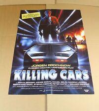 Killing Cars , mit J. Prochnow + Senta Berger - authentisches Kinoplakat   /S145