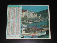 Calendrier PTT 1986 Port Vendres