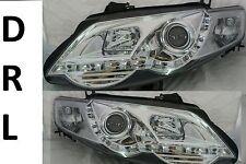 Ford Falcon FG XR6 XR8 Sedan Ute DRL Like NEW LED Chrome Projector Headlights