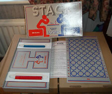 STACK - FUTURISTIC GAME OF LOGIC - BB GAMES (VINTAGE 1986) - 100% COMPLETE, VGC