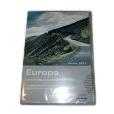 3771-ama Kartenmaterial Audi RNS-E Europa 2016 8P0 060 884 CG Navi Software