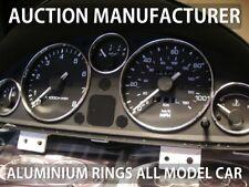 Eunos Roadster 1989-1996  Polished Aluminium Chrome Gauge Rings 5 pcs