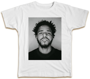J Cole T-Shirt - Music Hip Hop Cool Designer Top Gift Summer Present Fan