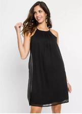 Bodyflirt UK Size 12 Black Chiffon Shell Short Dress NEW