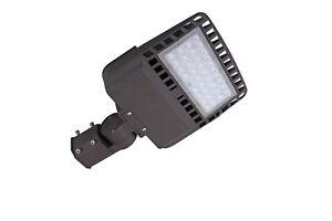 LED  Shoe box 100W flood light 5000K Bronze/Silver-grey