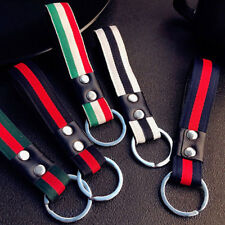 Purse Bag Key Chain Ring Key Fob 1pc New Men Fashion Leather Metal Car Keychain