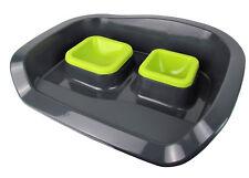 Futterstation / Hundenäpfe oder Katzennäpfe - easy clean (Farbe: Grün)
