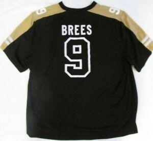 Drew Brees 8 New Orleans Saints Men's 2XL Jersey