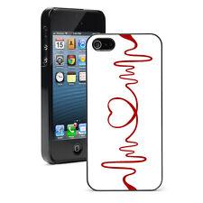 For iPhone X SE 5 5S 5c 6 6s 7 8 Plus Hard Case Cover 149 Red Heart EKG Nurse