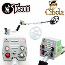 "Tesoro Cibola High Tone Metal Detector with 9 x 8"" Concentric Search Coil"