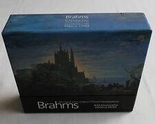 Marcus CREED-RIAS / BRAHMS Choral masterpieces 3CD Box set HARMONIA MUNDI (1998)