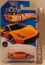 Hot Wheels 2013 HW City Lamborghini Gallardo LP 570-4 Superleggera 50th Orange