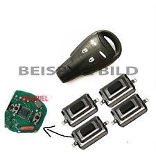 4x Microtaster Mikrotaster Fernbedienung Schlüssel Mikroschalter Taster für Saab