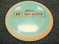 Rare Discraft Proto Esp Kong Paul Mcbeth Disc Golf Driver Prototype Aquacpr 171G