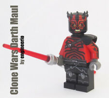Custom Darth Maul Clone Wars Star Wars minifigures lego bricks vader