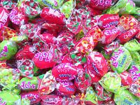 ZOZOLE MUSSS Strawberry, Apple & Cherry Mix Fizzy Filling Bulk Candy Sweets