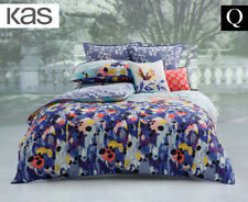 KAS Emery Queen Bed Quilt Cover Set - Multi