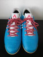 Mens Adidas Ace 15.3 Sala Blue Indoor Football Trainers VGC - UK 8