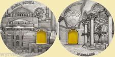 PALAU 2016 Hagia Sophia Mineral Art 10$ 2oz Ag