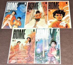 HOME Complete 5-Issue Set by Julio Anta and Anna Wieszczyk