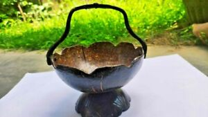 Coconut shell 100% Natural Eco Friendly decorating hand made Traditional Vass