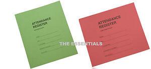 Attendance Register Book School Class Mark Book Record Book Teachers Club 3 Term